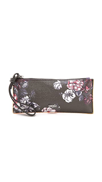 McQ - Alexander McQueen Faux Leather Wristlet