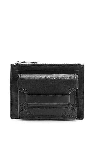 McQ - Alexander McQueen Detachable Pocket Clutch