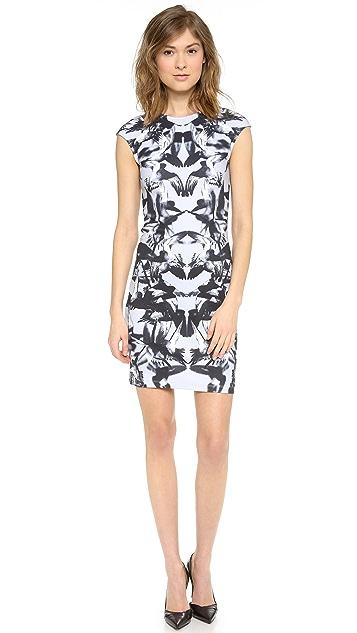 McQ - Alexander McQueen Cap Sleeve Dress
