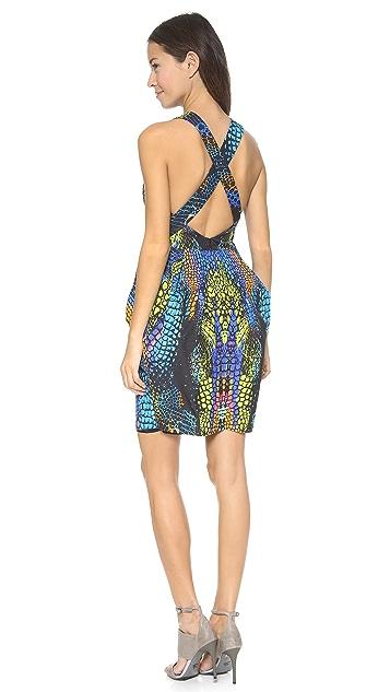 McQ - Alexander McQueen Round Neck Party Dress