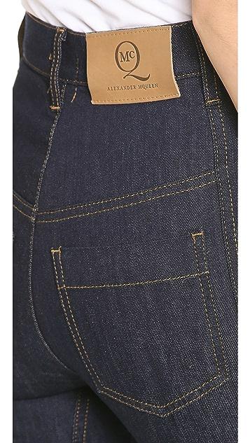 McQ - Alexander McQueen Boot Leg Jeans