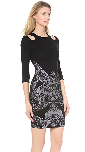 McQ - Alexander McQueen Lace Body Con Dress