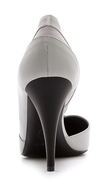 McQ - Alexander McQueen Lex Slash Pumps