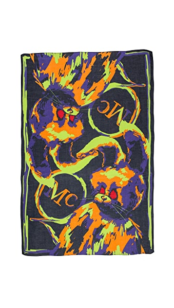 McQ - Alexander McQueen Angry Bunny Scarf