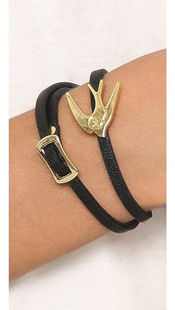 McQ - Alexander McQueen Swallow Mini Bracelet