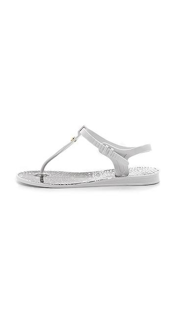 McQ - Alexander McQueen T Strap Flat Sandals