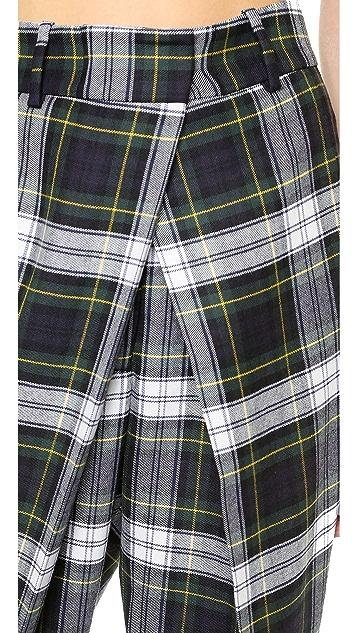 McQ - Alexander McQueen Front Pleat Trousers
