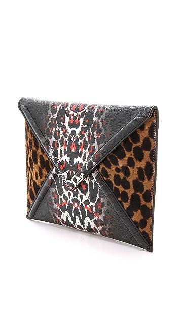 McQ - Alexander McQueen Haircalf Envelope Clutch