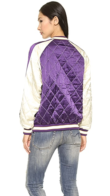 McQ - Alexander McQueen Quilted Bomber