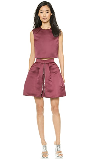 McQ - Alexander McQueen Zip Party Skirt