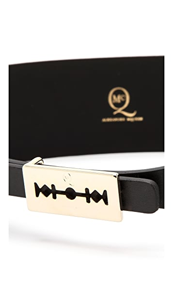 McQ - Alexander McQueen Razor Shaped Belt