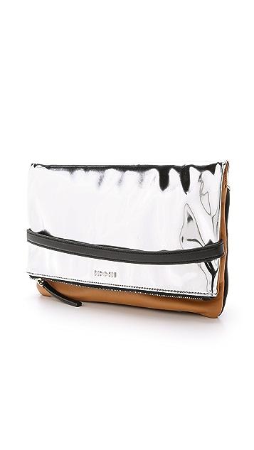 McQ - Alexander McQueen Phlox Fold Clutch