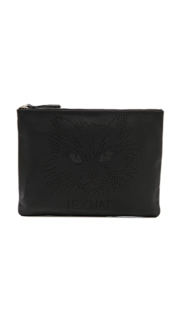 Me and Her Casselini Le Chat Clutch