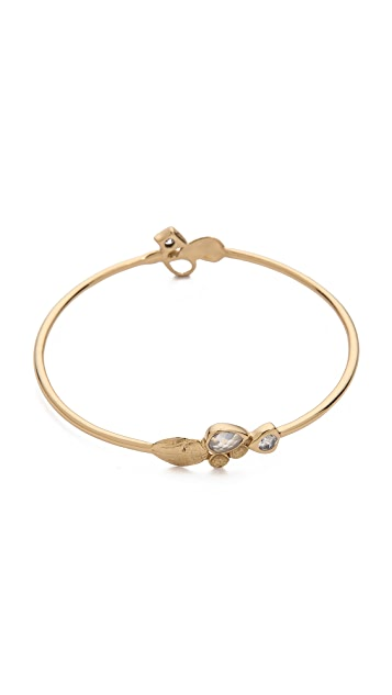 MELINDA MARIA Flynn Bangle Bracelet