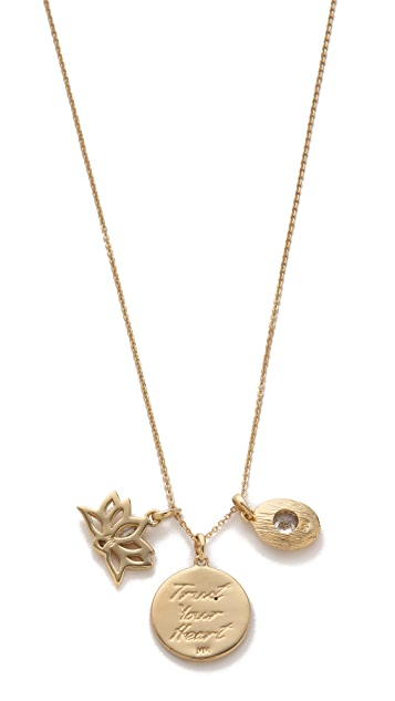 MELINDA MARIA Goddess of Love Necklace