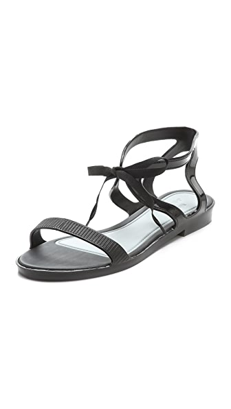 Melissa Melissa + Jason Wu Tie Sandals