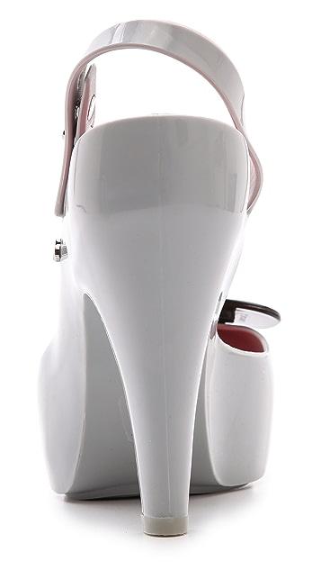 Melissa Melissa + Karl Lagerfeld Ultragirl Heels