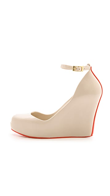 Melissa Patchuli Wedge Pumps
