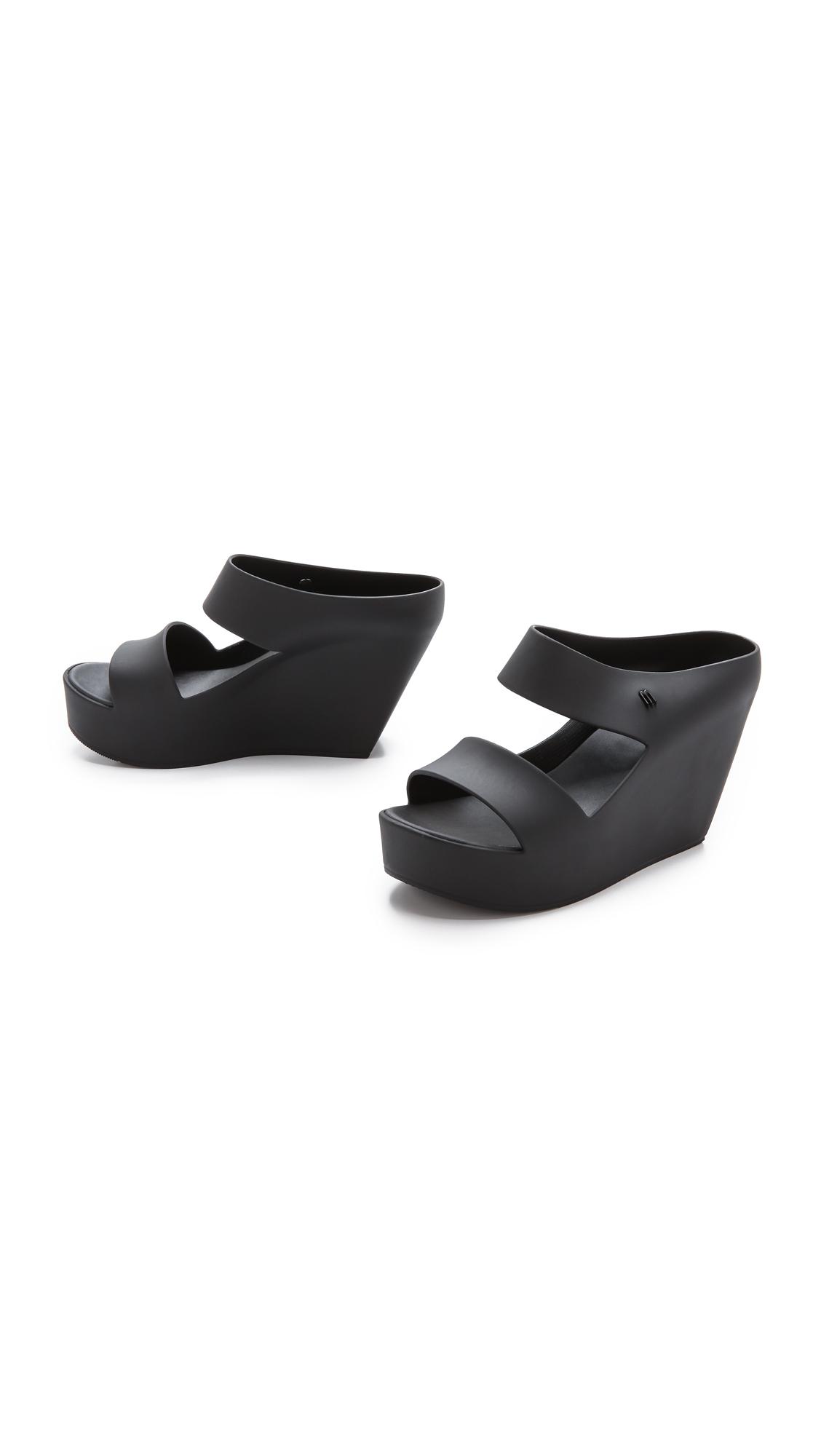 f7659d821b8 Melissa Creative Wedge Sandals