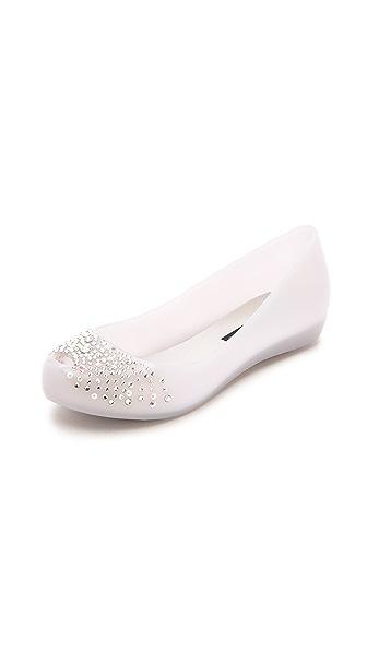 Kupi Melissa online i prodaja Melissa Ultragirl Wedding + J. Maskrey Crystal Flats Grey haljinu online
