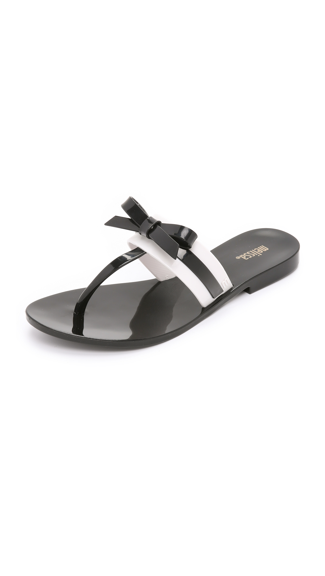 5de20d328593f2 Melissa Garota Bow Flip Flops