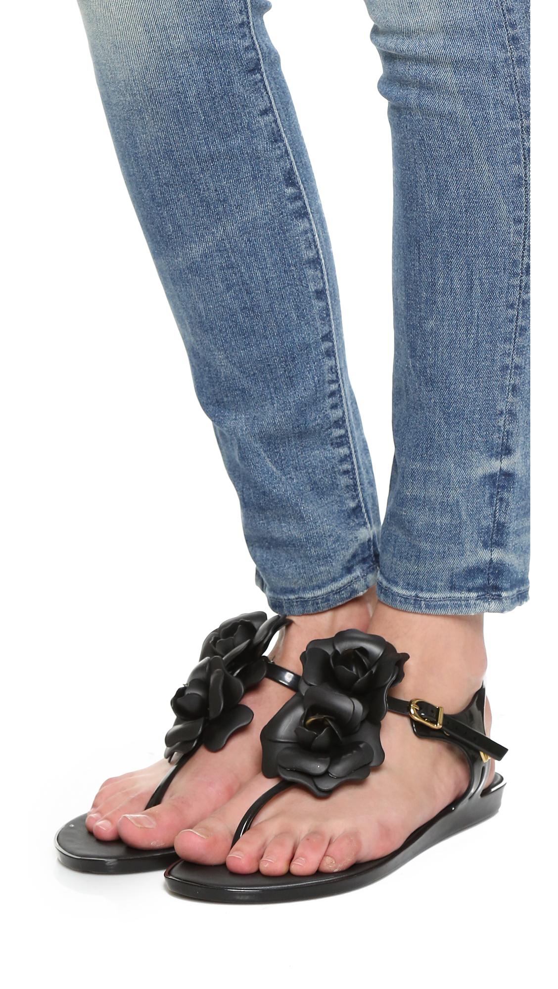 801343acf7e1 Melissa Solar Garden Sandals