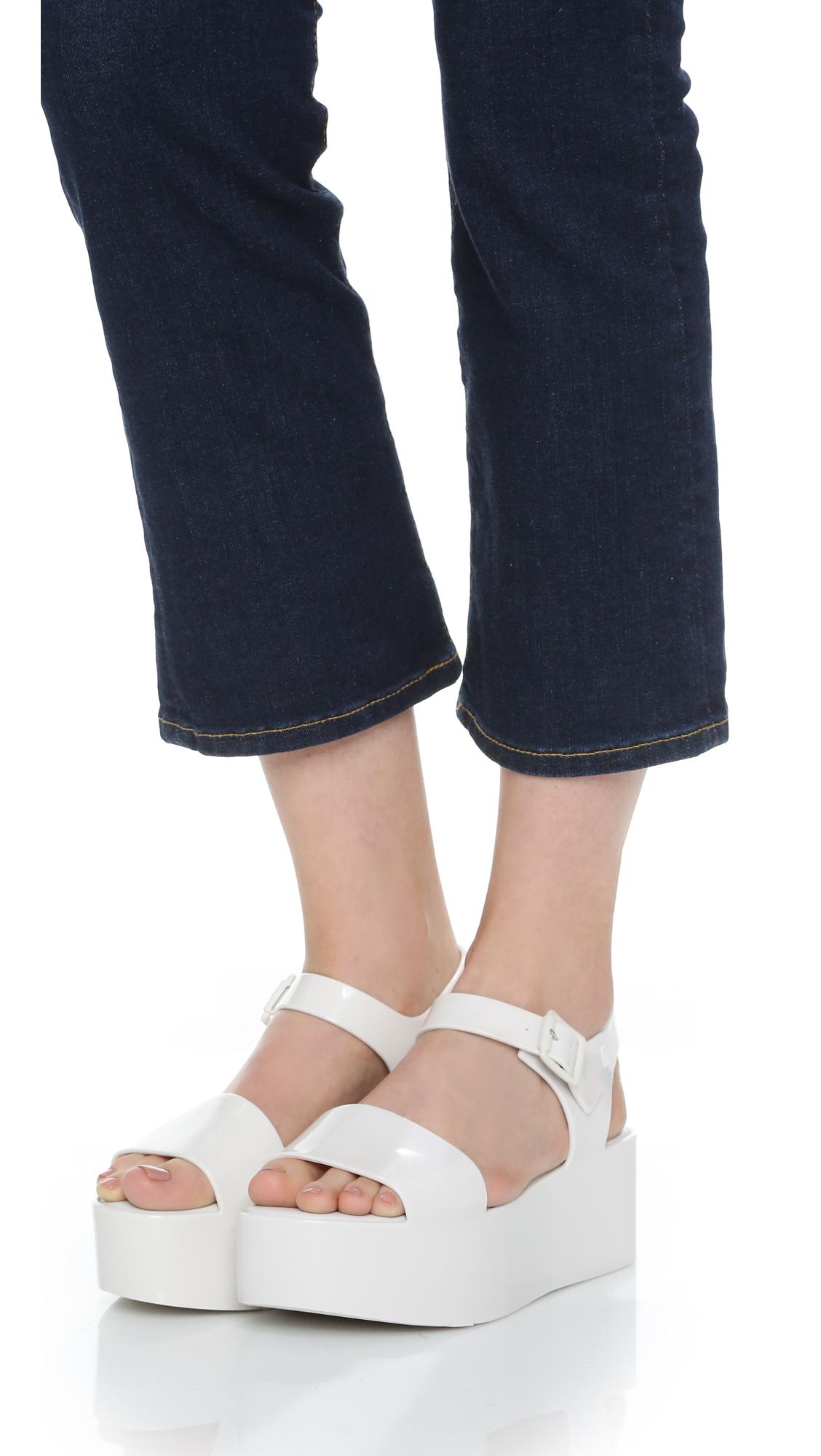 c1a120fdb552 Melissa Mar Flatform Sandals