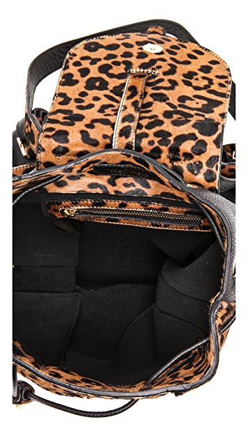 meli melo Backpack Lux with Haircalf