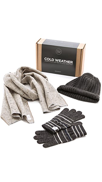 Men In Cities East Dane x Men In Cities Cold Weather Essentials Kit
