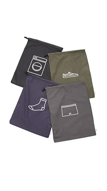 Men In Cities Travel Pack Bags