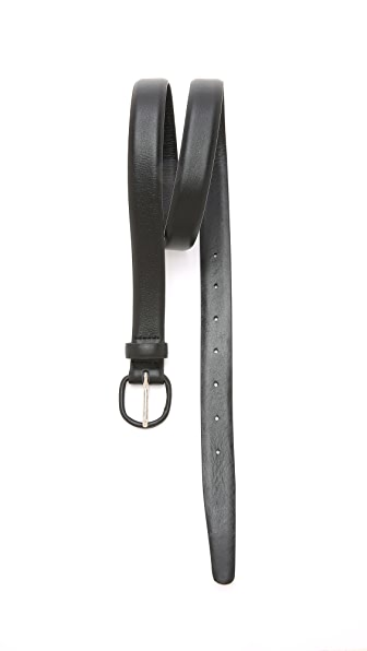 Men In Cities Leather Belt