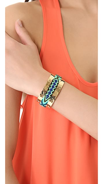 Mercedes Salazar Hammered Friendship Cuff