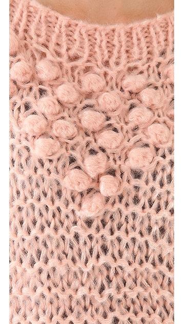Mes Demoiselles Russel Pom Pom Sweater