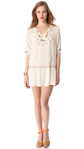 Mes Demoiselles Meril Embroidered Mini Dress