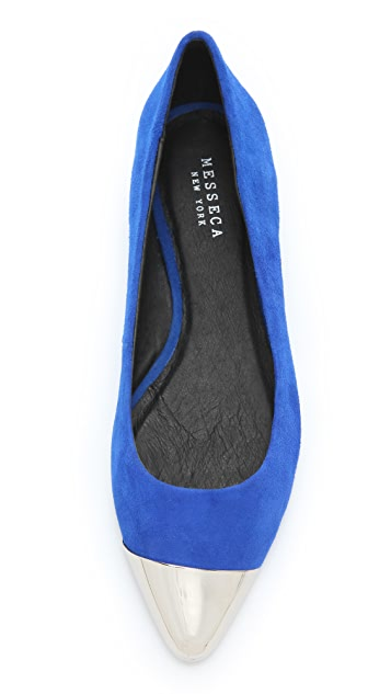 Messeca New York Cap Toe Ballet Flats