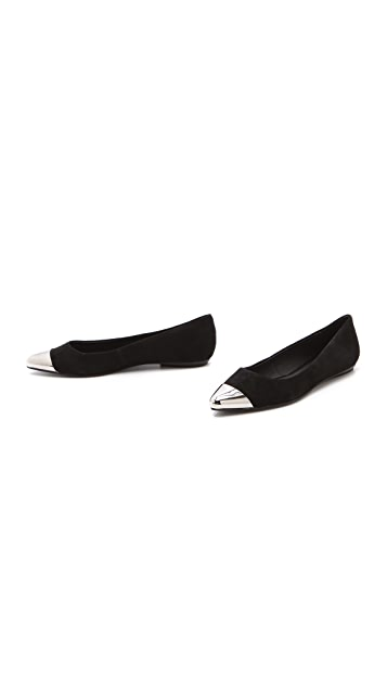Messeca New York Jacqueline Cap Toe Flats