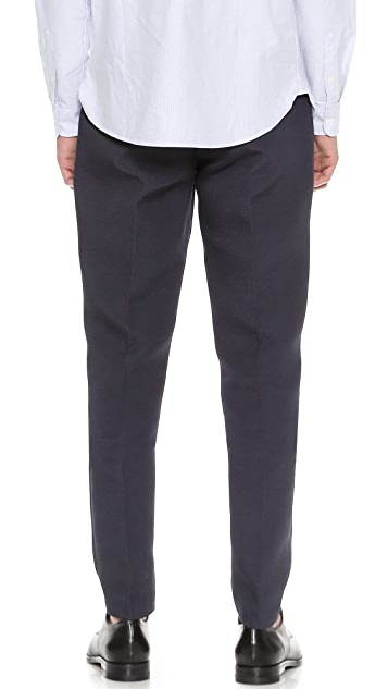 Editions M.R. Buttoned Pleated Pants