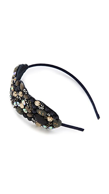 Marie Hayden Iridescent Side Headband