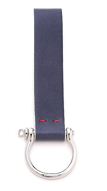 Miansai Screw Cuff Keychain with Strap