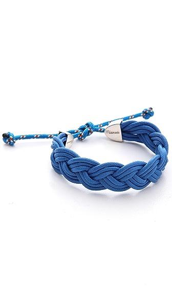 Miansai Nantucket Woven Rope Bracelet