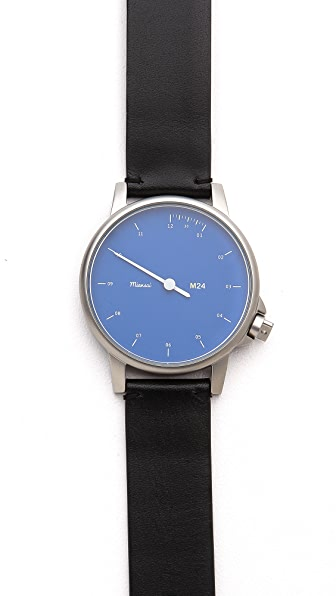 Miansai M24 Blue Dial Watch