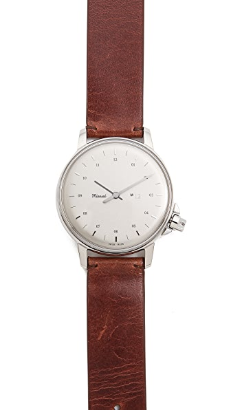 Miansai M12 White Dial Watch