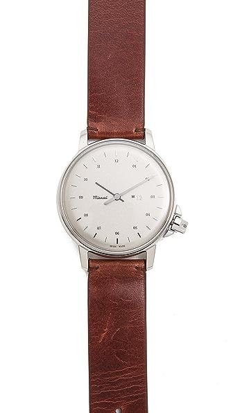 Miansai M12 White Dial Watch