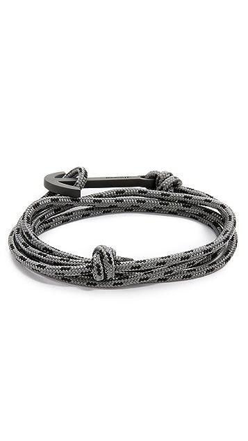 Miansai Modern Anchor Noir Rope Bracelet