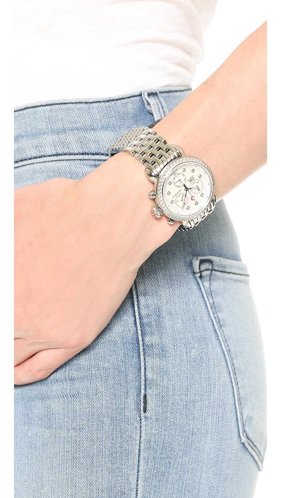 a35d8b1c8338 MICHELE CSX-36 Diamond Dial Watch