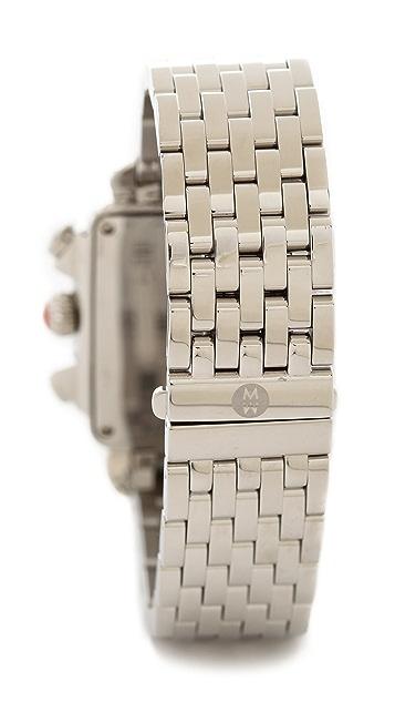 MICHELE Deco XL Dial Watch