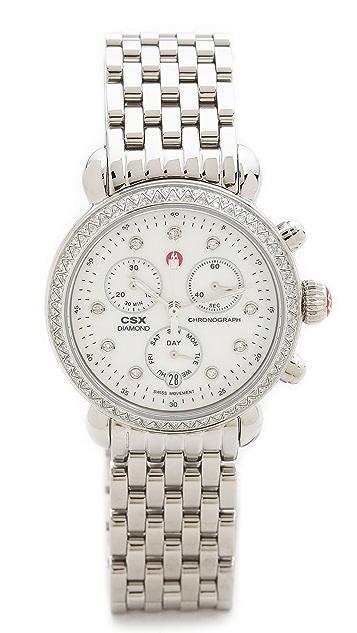 MICHELE CSX-36 18mm 7 Link Bracelet Watch Strap