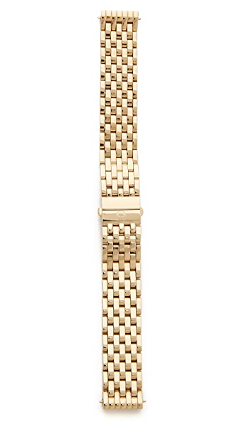 MICHELE Deco 16mm 7 Link Bracelet Watch Strap