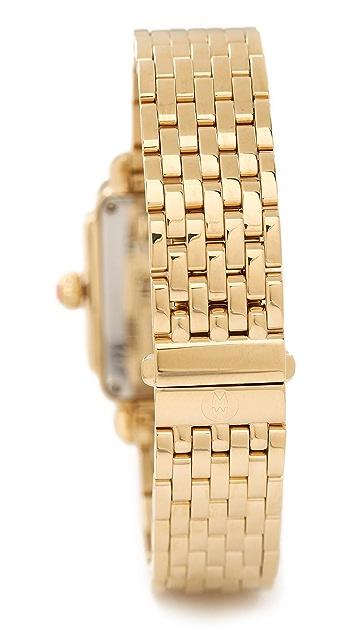 MICHELE Deco 16mm 7 Link Bracelet Watch Strap