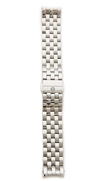 MICHELE Sport Sail 20mm 5 Link Sport Watch Strap